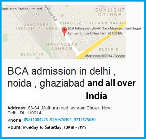 Contact Us for Bca admission