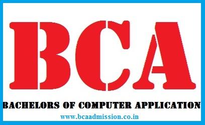BCA Admission 2020