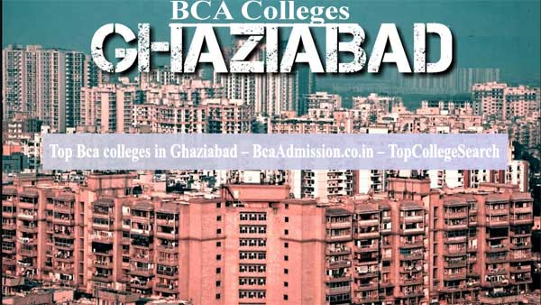 Bca colleges Ghaziabad