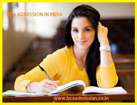 bca admission in india